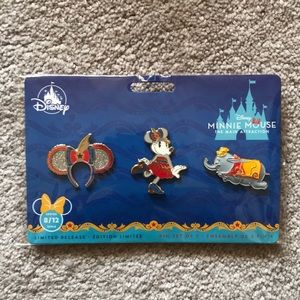 Disney Minnie Main Attraction Dumbo Pins
